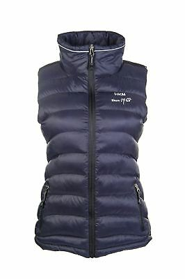 Hkm Ladies Extra Light Padded Gillet Quilted Waistcoat
