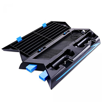 PS4 Stand, SuperStore_Electronics [Upgraded Version] PS4 Vertical Stand Cooling