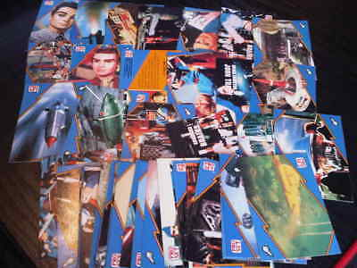 THUNDERBIRDS 1992 Pro Set Trading Cards Bundle lot x 44