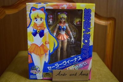 S.H.Figuarts Sailor Moon Sailor Venus Action Figure Bandai Japan 1st edition