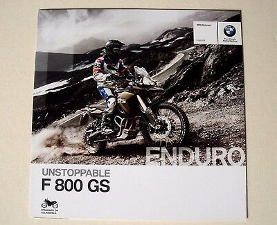 BMW . F 800 GS Enduro . 2013 . Sales Brochure