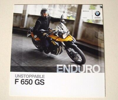 BMW . F 650 GS Enduro . 2011 . Sales Brochure