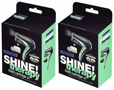 Remington Shine Therapy Hair Dryer Refill Cartridge R4444 (2 x 2 Pack) 4 x 16ml