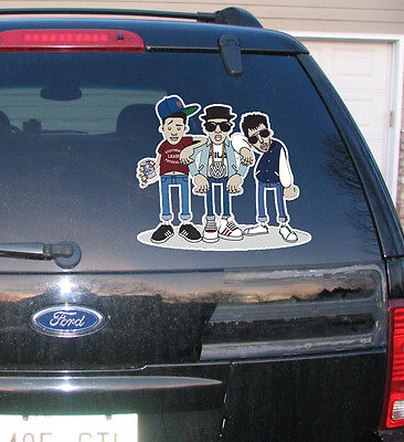 Beastie Boys Rock Rare Sticker Decal Car Window Bumper Rap Old School Hip Hop