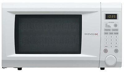 Daewoo White 31L 1000w Digital Family Size Microwave Oven 10 Power Level KOR1NOA