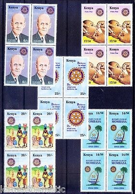 Rotary, Paul Harris, Vaccination, Medicine, Water Projects, Kenya 1995 MNH - M23
