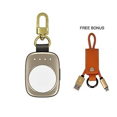Apple Watch Magnetic Charging Charger Wireless iWatch Power Bank 3 2 1 NEW Gold