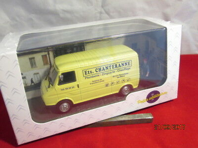 Atlas Editions 1:43 French Commercial Citroen C35 Fourgon - Plumber  Nib