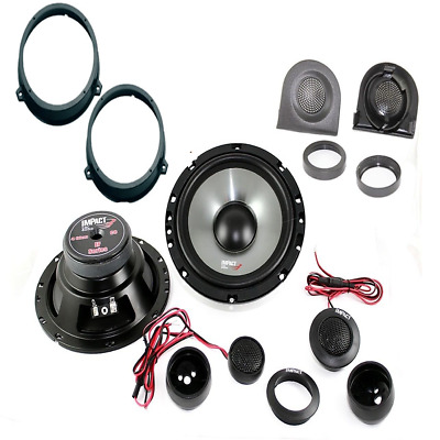 IMPACT EF 65S + supporti panda kit casse 2 vie 16 / 16,5 cm 130 watts kit 2 vie