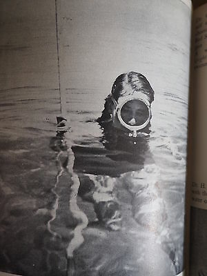 LADY with a SPEAR Free Diving HB DJ RARE 1955