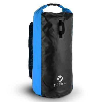 70 Litre Trekking Rucksack Waterproof Windproof Smellproof Pvc Tarpaulin Blue