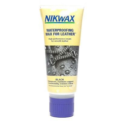 NIKWAX NEW Waterproofing Wax For Leather 100ml Black
