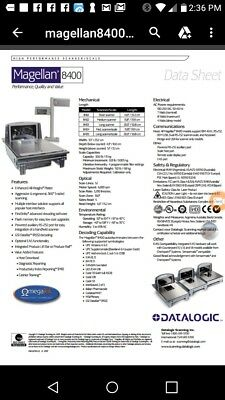 Datalogic Magella 8400, In-Counter/On-Counter Scanners/Scales ...Barcode Reader