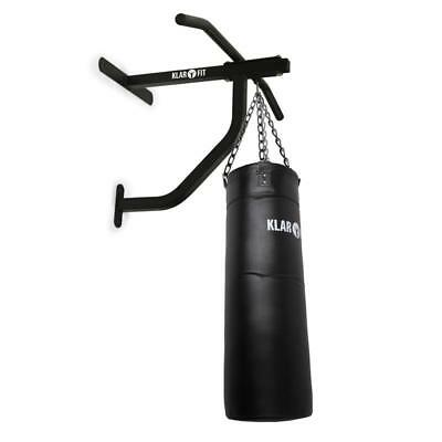Punch Bag With Wall Bracket Pull-Up Bar 350Kg Max Load Chin-Up Boxing Training