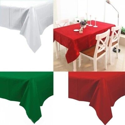 """54"""" x 108"""" PEVA Dining Table Cover Birthday Wedding Party Supplies Tablecloth  m"""