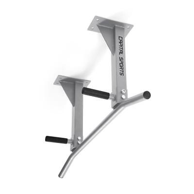 CAPITAL SPORTS WALL MOUNTED CHIN-UP PULL-UP SPORTS TRAINING BAR 350kg  FITNESS