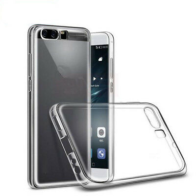 Ultra Thin Clear Soft Gel TPU Case Cover Skin For Huawei Honor 8 P9 P10 Lite