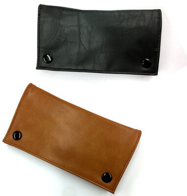 Tobacco Cigarette Rolling Leather Roll Up Pouch Wallet Case Organiser