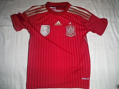 Rfcf Sweden Football Shirt Adidas Aged 7-8
