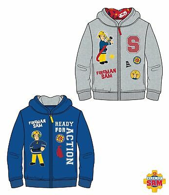 official fireman sam   hooded jumper 3-8 YEARS free 2nd class post
