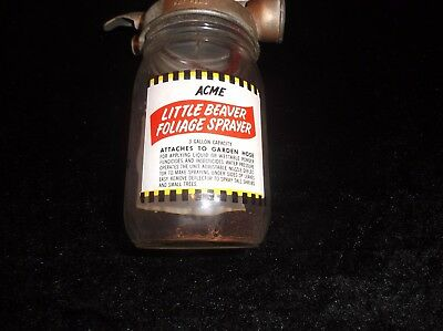 ACME Little Beaver Vintage Collectible Antique Foliage Sprayer Old Hardware Item