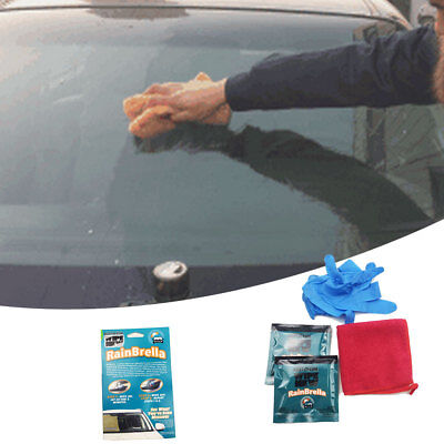 Invisible Car Vehicle Wipe Windshield Glass Rain Water Repel Coating Lubricant