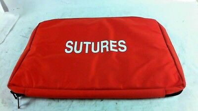 "Iron Duck Sutures Orange Hanging Bag 29 Pockets 20x15"" U.S. Made EMT New"