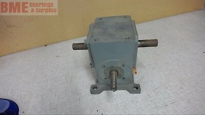 Browning 100Ulr5, Lef/right Angle Gear Reducer, 5:1 Ratio, 0.50 Input Hp,