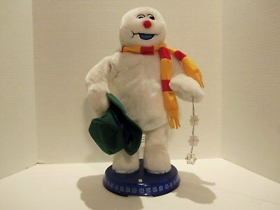 Vintage Frosty The Snowman Singing- Moving-Lights Up Toy-Christmas-Very Rare