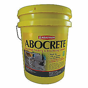 ABOCRETE Epoxy Adhesive,Light Gray,5 gal.,Bucket, ACKR Light Gray