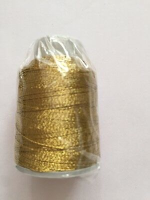 Polyester gold glitter Thread, 6ply, Yarn,Embroidery,Crafting,20g