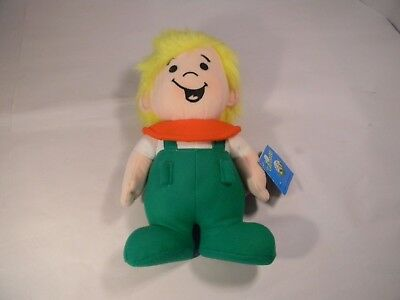 "NWT 1985 Dakin HANNA BARBERA 11"" Plush ELROY The JETSONS Stuffed Toy Boy Vintage"
