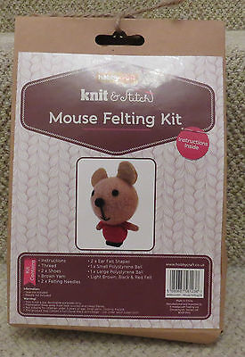 Felting Kit Mouse