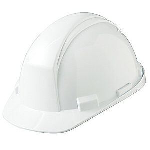 HONEYWELL NORTH Hard Hat,4 pt. Pinlock,Wh, A89010000, White