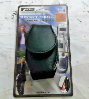 Leather Universal NITE-IZE Small Phone Holster Sport Case Mobile Pouch w/ Clip