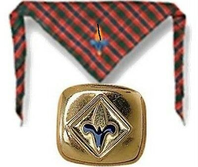 Boy Scout Webelos Neckerchief and Slide Package Clip Holder NWT Cub Scouts New