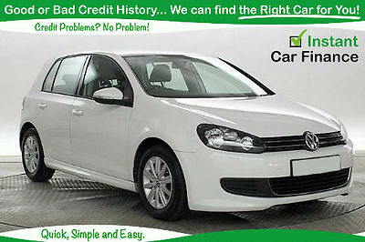 volkswagen golf 1 6tdi bad credit guaranteed car finance picclick uk. Black Bedroom Furniture Sets. Home Design Ideas