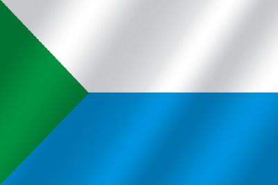 all sizes region of the Russian Federation the flag of Perm Region Russia