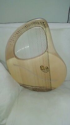 Solo Chromatic 49 string Lyre by Atelier Delos