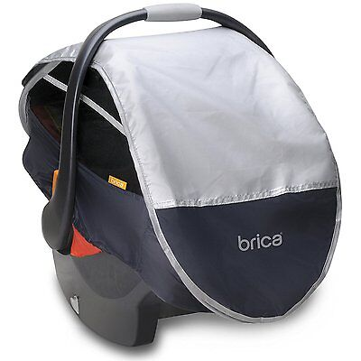 Canopy Car Seat Cover, Grey
