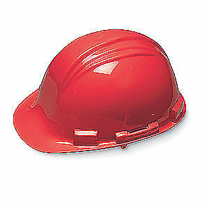 HONEYWELL NORTH Hard Hat,4 pt. Ratchet,Red, A79R150000, Red