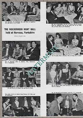(159) The Holderness Hunt Ball Hornsea Yorkshire Fewsop Mellor Burstall - 1966