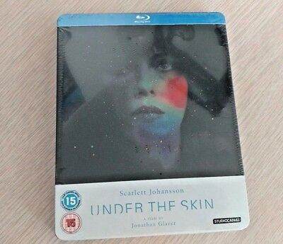 Under the Skin Zavvi UK Exclusive Blu-Ray Steelbook NEW OOP/RARE