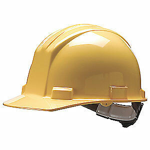 BULLARD Hard Hat,4 pt. Ratchet,Ylw, 62YLR, Yellow
