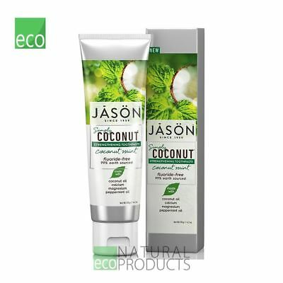 Jason Organic Toothpaste Coconut Mint Strengthening 119g