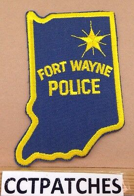 Fort Wayne, Indiana Police Shoulder Patch In 2