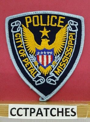 City Of Petal, Mississippi Police Shoulder Patch Ms