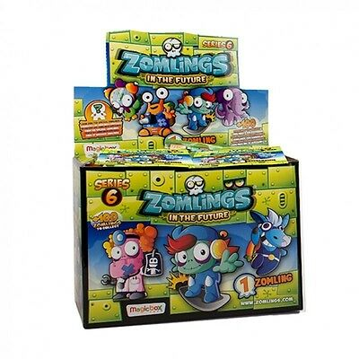ZOMLINGS SERIE 6. IN THE FUTURE. Lote de 12 sobres individuales de 1 zomling