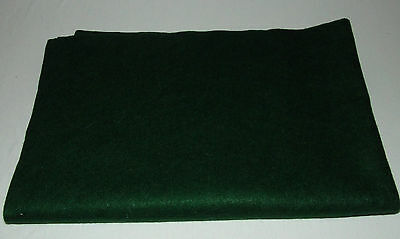 """19""""X57""""~Green Acrylic Felt Fabric~Crafts~Sewing~Nonwoven Material 0.84 Sq Yard"""