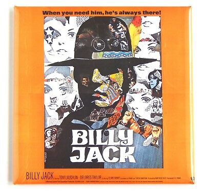 Billy Jack FRIDGE MAGNET (3 x 3 inches) movie poster